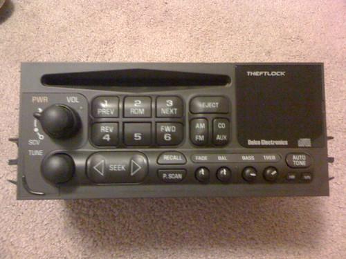 Wts Chevygmc Stock Radio 9902 Lcd Remote Nike Putter Rhcalguns: 1999 Chevrolet Silverado Radio At Elf-jo.com