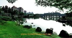 惠宇澄峰:豐樂公園的湖邊映像