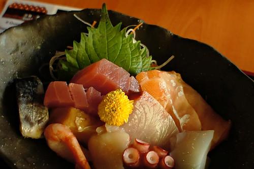 Sashimi platter at Standing Sushi Bar, Queen Street