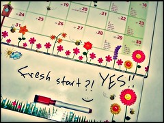 write your life , day by day 4.52 (Broken.smile-SaFaa) Tags: new flowers sun wall clouds start canon weird october like it fresh beginning calender editing but abee safaa i anotherbee