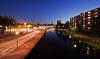 Schiedam City @ Blue Hour (DolliaSH) Tags: city longexposure blue canon nightshot hour stad schiedam canonefs1022mmf3545usm nachtopname canoneos50d dollia dollias sheombar dolliash