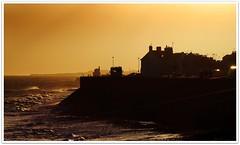 The Cold North Sea (Les1966) Tags: coast scotland nikon angus northsea arbroath d3000 oct2010