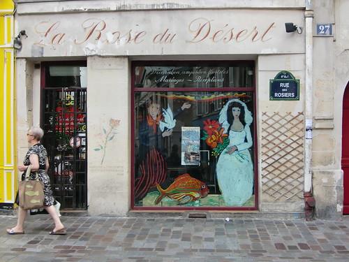 La Rose du Désert - Rue Des Rosiers