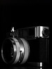 Fujica V2 (daveelmore) Tags: camera copyright photography blackwhite lowlight rangefinder fujica v2 allrightsreserved 118 cameraporn f45cm fujinonlens fujicav2 omzuiko50mm114 fujiphotofilmco om43lensadapter ©daveelmore