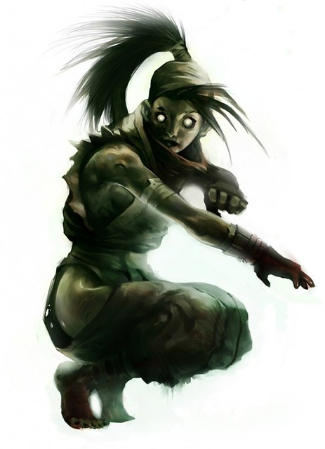 street fighter zombie 4