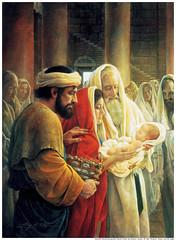 Simeon Jesus Christ Baby Mormon