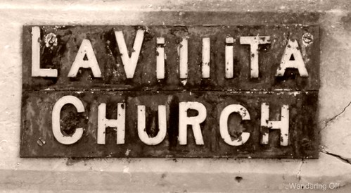 La Vilita Church sign