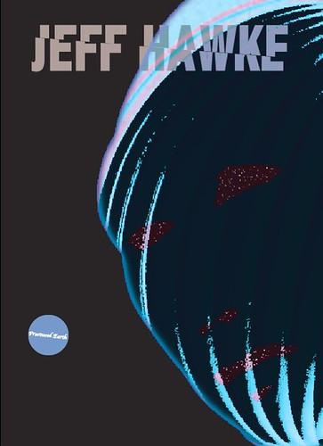 Jeff Hawke bookcover (illo)