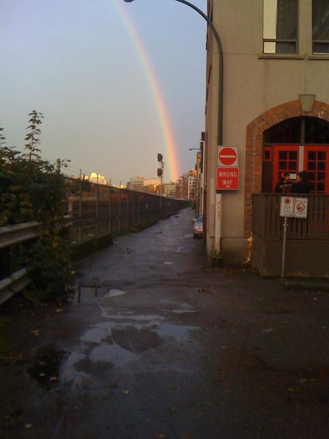 Gastown rainbow