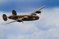 Liberator (JoelICastaneda) Tags: aircraft wwii airshow bomber propeller warbirds 2010 b24liberator ol927 wingsoverhoustonairshow
