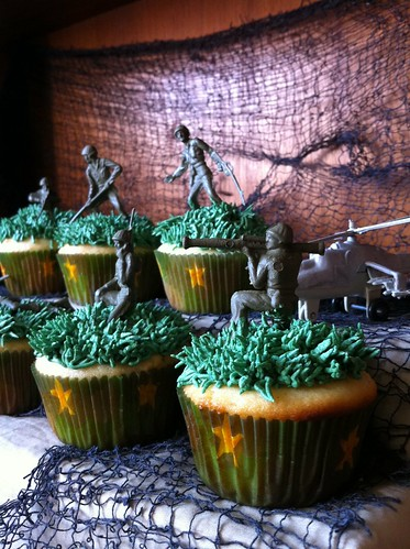 Call of Duty: Black Ops Cupcakes
