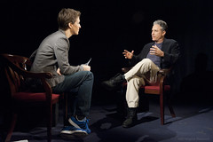 Rachel Maddow and Jon Stewart (The Rachel Maddow Show) Tags: jonstewart msnbc rachelmaddow therachelmaddowshow