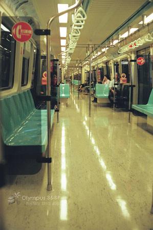 捷運車廂內