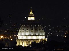 Cupolone by night (ioriogiovanni10) Tags: lumix panasonic leica città city luci notte rome vaticano sanpietro roma