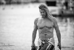 Surfer Solitude (JUNEAU BISCUITS) Tags: surfer beach ocean blackandwhitephotography blackandwhite hawaii oahu honolulu magicisland nikond810 nikon portrait portraiture