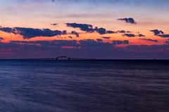 Nautical Twilight on the Bay (Bob90901) Tags: nauticaltwilight bay longisland newyork bluehour longexposure clouds sky summer morning greatsouthbay rpg90901 robertmosescauseway southshore dawn sunrise water bridge canon 6d canonef70200mmf28lisiiusm canon70200f28lll bergenpoint westbabylon 2016 april 0558