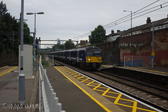 360114, Forest Gate (Cosmo's Train & Gig Photos) Tags: aga greateranglia class360 360114 desiro fog forestgate london geml greateasternmainline