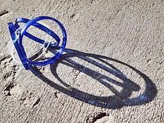 1 in Circles Blue (Robert Cowlishaw (Mertonian)) Tags: backyardphotolab texture concrete cement circular shadows robertcowlishaw canonpowershotg7xmarkii markii g7x powershot canon mood fragile wishing boredom noondaydemon mertonian circularblues blues melancholy rings dusk