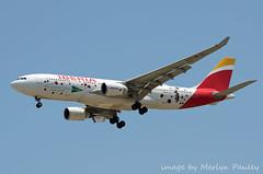Iberia A330 ec-mja (merlyn.pauley) Tags: madrid madridbarajasairport airport spain iberia a330 ecmja airbus shoppinglovers
