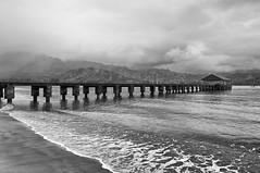 Hanalei Pier (_quintin_) Tags: hanalei kauai hawaii pier ocean beach