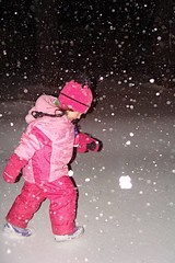 In a Snowstorm (Etolane) Tags: snowstorm enfance liloo