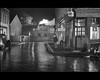 Saturday Night and Sunday Morning (70023venus2009) Tags: uk bw film wet beer reflections streetscene steam 1960s passingtrain watneys saturdaynightandsundaymorning albertfinney normanrossington midland2p