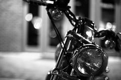 Lucio's pick (.I Travel East.) Tags: life blackandwhite bw blancoynegro monochrome nikon louisiana dof monotone harley batonrouge harleydavidson motorcycle headlight nikkor lucio nikkor50mm batonrougelouisiana nikkor50mmf14af d700 nikond700 perkinsrowe luciospick