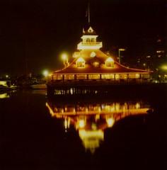 water (~KIM~) Tags: ocean longexposure reflection water night polaroid sandiego 600 slr680 680