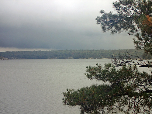 Stormy Weather--The Massasauga Park, Ontario (Campsite # 509)