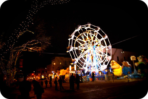 downtown Christmas carnival