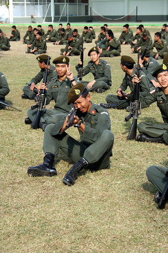 Thai School Boy Soldiers