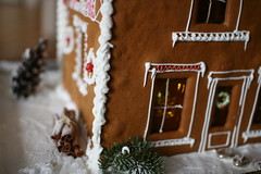 gingerbread stone house 5