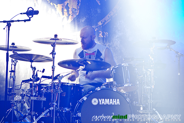Justin Foley - Killswitch Engage - Live Music Photos - Oberhausen, Turbinenhalle - 09.12.2009