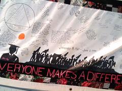 Piece of AIDS quilt (saulegonzalez) Tags: worldaidsday aidsquilt worldbank