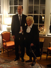 Lgion d'Honneur's ceremony (9th of December, 2009) (France in New England) Tags: lilly norma christophe guilhou
