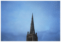 (toby price) Tags: christmas sky tower lights evening durham mjuiichurch