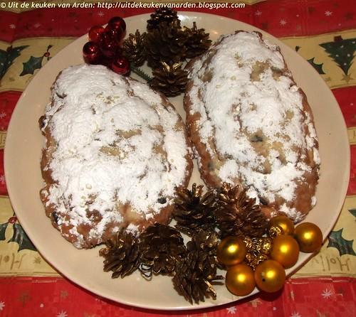 Kerststol met kwark (zonder gist)