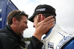 Nick Harvey with John Edwards