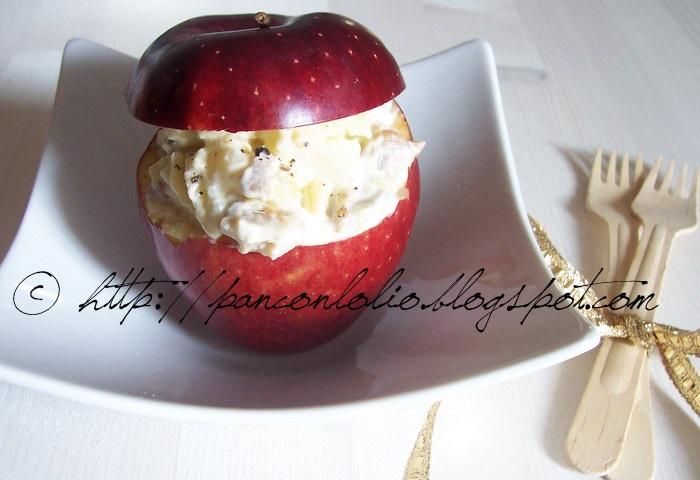 insalata di aringa e mela