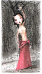 blancanieves (marta vicente dibujos) Tags: original girls cats baby color art luz pencil portraits dark painting children toys artwork kitten drawing paintings lapiz drawings gatos niños retratos cachorros papel dibujos dibujo dulce pinturas hadas lineas oscuro gotico trama cuentos latinart trazo melancolico obrasdearte southamericanart figuracion beauttifull argentinianart dibujosdeniñas bellezafinearts martavicente niñoscongatitos
