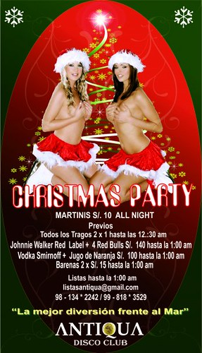Christmas Party - Antiqua Disco Club