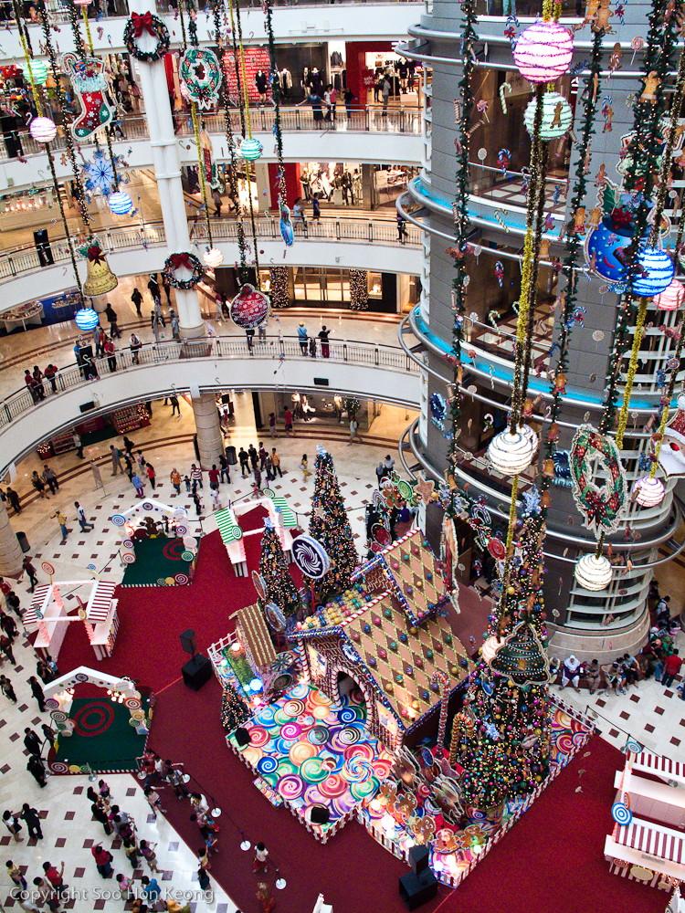 Christmas Deco @ KLCC, Malaysia