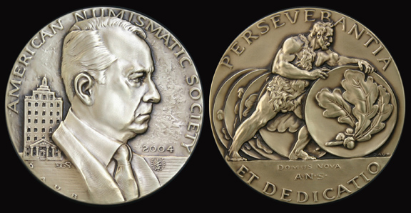 American Numismatic Society Donald Groves Medal 2004