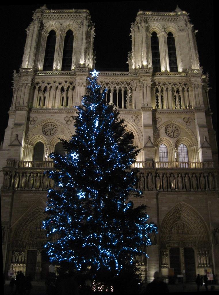 Notre-Dame de Paris at Christmas Time
