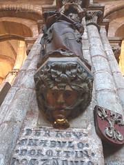 Green Man - Sebalduskirche (Regina_Hoer) Tags: church geotagged nuremberg gothic carving medieval greenman nuernberg greenmen foliatehead grünermann foliatemask blattmaske reginahoer