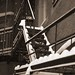 Snowy Fire Escape