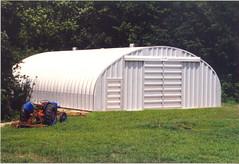 SteelMaster Steel Agricultural Storage Building