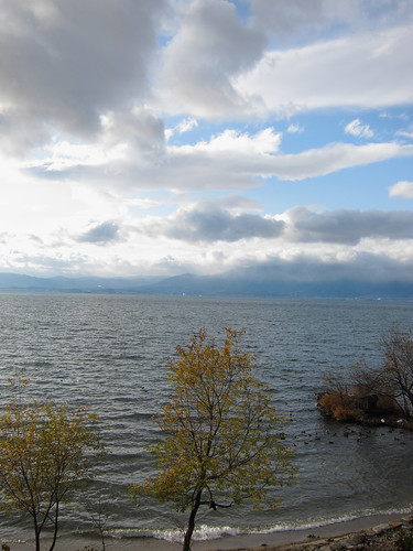 Lake Biwako in Winter