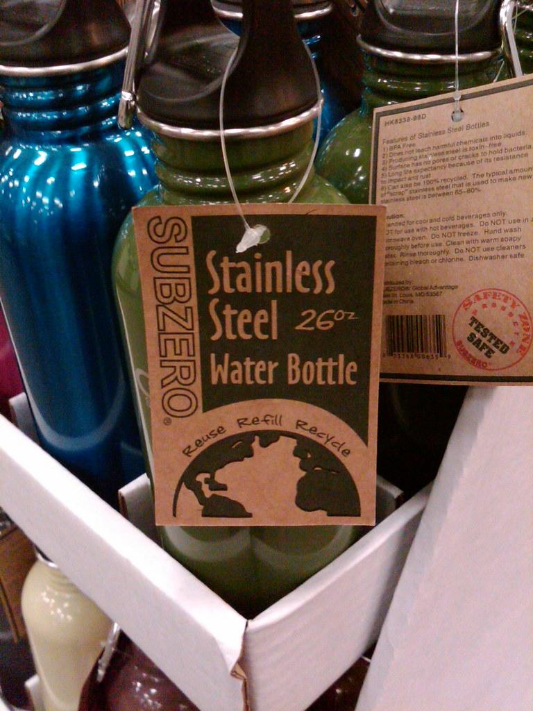 Subzero Water Bottle?!