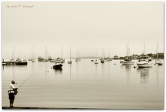 Rhode Island (Ronaldo F Cabuhat) Tags: life ri travel light shadow sea vacation inspiration seascape reflection art water monochrome be